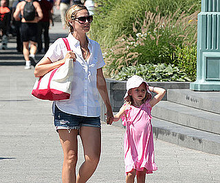 Slide Picture of Heidi Klum and Leni in New York