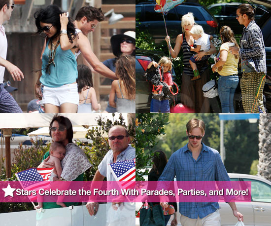 Stars Celebrate the Fourth With Parades, Parties, and More!