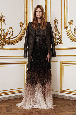 Riccardo Tisci Takes Givenchy Intimate for Fall 2010 Couture