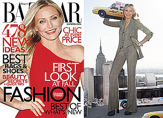 Pictures and Quotes From Knight and Day's Cameron Diaz in Harper's Bazaar