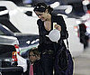 Slide Picture of Salma Hayek and Valentina in LA