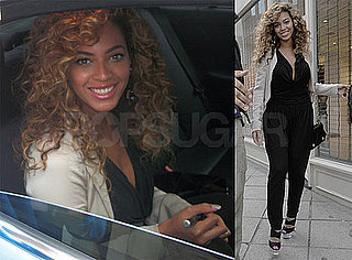 Pictures of Beyonce Knowles Shopping in London