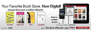 Borders Launches Kobo Ebook Store, BlackBerry and Android Apps