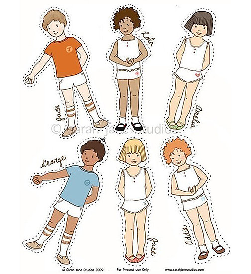 paper dolls for boys and girls photo 6