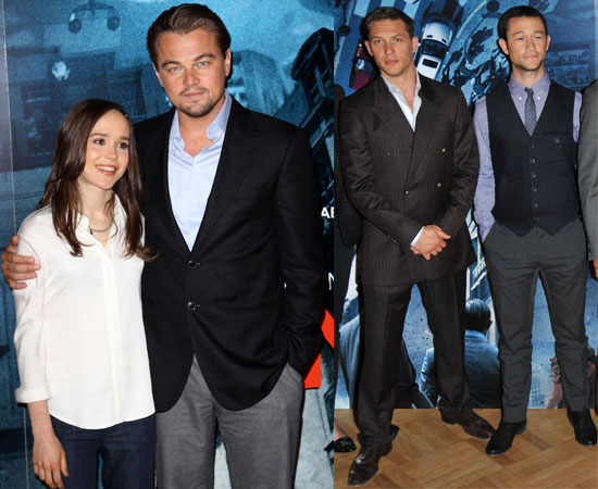 Pictures of Inception Cast in London