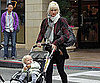 Slide Picture of Gwen Stefani and Zuma at The Grove in LA