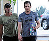 Slide Picture of Michael C Hall Working Out In LA