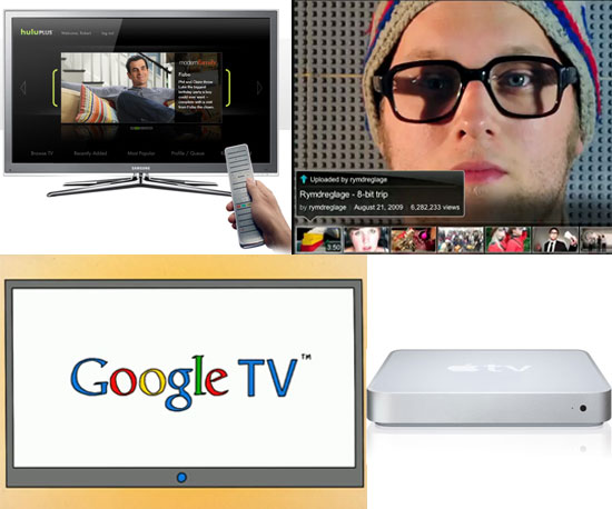 Breaking Down Google TV, Hulu Plus, Apple TV, and Leanback