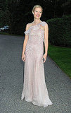 Gwyneth Paltrow in nude Valentino.
