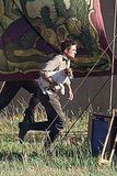 Robert Pattinson on the Set of Water For Elephants