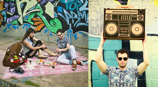 Photos of the Boxal Boombox Urban Picnic Box Set