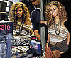 Pictures of Beyonce Knowles Shopping In London Topshop After Her Close Car Crash Call