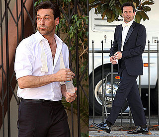 Pictures of Jon Hamm in a Tuxedo For a Photo Shoot in LA