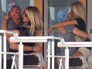 Pictures of Ryan Seacrest and Julianne Hough Kissing on Vacation in Italy