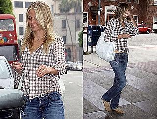 Pictures of Cameron Diaz Running Errands in LA
