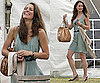 Photos of Kate Middleton at Polo Match in Green Dress and Espadrilles