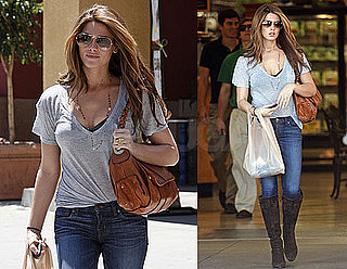 Pictures of Ashley Greene Grocery Shopping in LA