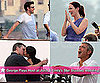Pictures of Emily Blunt, John Krasinski and George Clooney Before Their Lake Como Wedding