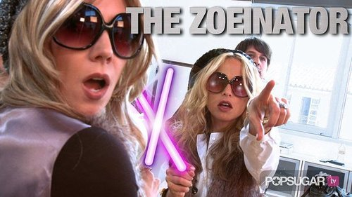 Celebrity Stylist Rachel Zoe Battles the Zoeinator! 2010-07-13 23:30:54