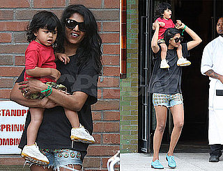 Pictures of M.I.A. With Ben Bronfman in NYC With Baby Ikyhd 2010-06-30 08:45:00