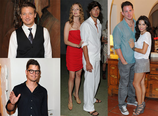 Channing Tatum, Jeremy Renner, Jenna Dewan, Sofia Vergara, Heather Graham, Josh Hartnett at Ischia Film Festival 2010-07-14 16:00:17