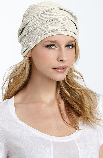 I'm all for slouchy beanies, but this Cara Accessories Slouchy Beanie ($28) just doesn't fold right.