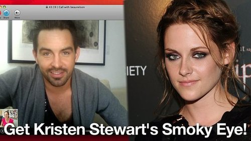 How to Get Kristen Stewart Smoky Eye Makeup Tutorial