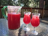 Watermelon Sangria Recipe 2010-07-15 12:30:49