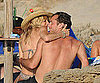 Slide Picture of Jude Law and Sienna Miller Kissing on Beach in Italy