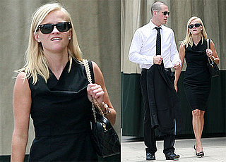 Pictures of Reese Witherspoon and Jim Toth Leaving a Meeting Together in LA