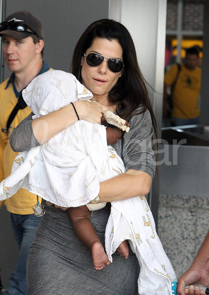 Sandra and Louis Bullock