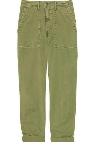 Current/Elliott | The Army cotton pants | NET-A-PORTER.COM 245