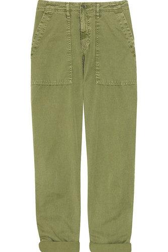 Current/Elliott|The Army cotton pants|NET-A-PORTER.COM 245