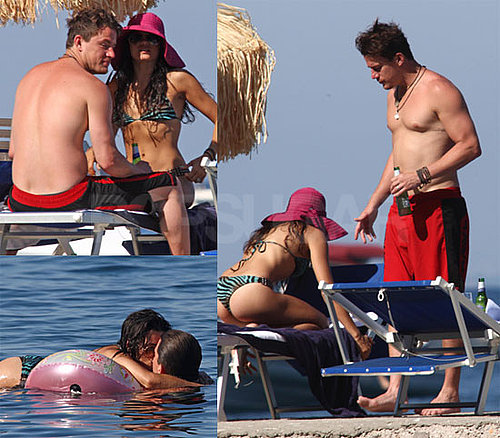 Pictures of Shirtless Channing Tatum and Jenna Dewan in A Bikini In Italy