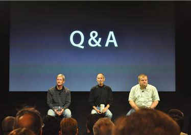 Apple iPhone 4 Press Conference Q&A