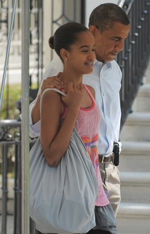 Malia Obama Going to Sleepaway Camp