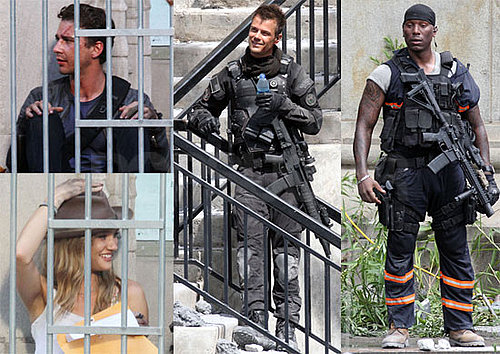 Pictures of Shia LaBeouf and Josh Duhamel on the Set of Transformers 3 2010-07-19 15:00:00
