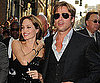Slide Picture of Angelina Jolie and Brad Pitt at Salt LA Premiere