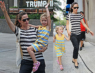 Pictures of Jennifer Garner and Violet Affleck Exploring NYC