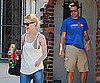 Slide Picture of Jason Sudeikis and January Jones in LA