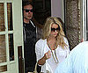 Slide Picture of Jessica Simpson and Eric Johnson at The Ivy in LA