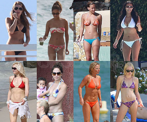 PopSugar Poll: Who Would You Be Most Surprised to See Getting Knocked Out of Our Summer Bikini Bracket?