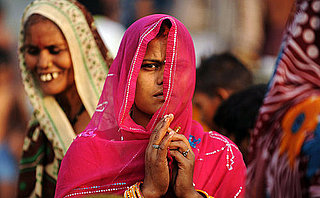 The Gulabis, or Pink Gangs, in India