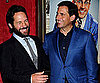 Slide Picture of Paul Rudd and Steve Carell at Dinner For Schmucks Premiere in New York
