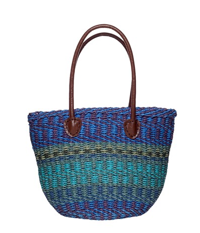 Poppie Jones Large Straw Shopper ($40)