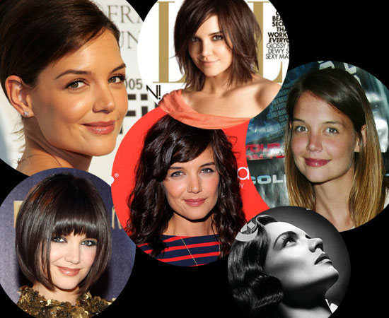 Katie Holmes: Then and Now