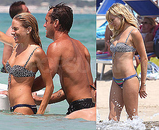 Pictures of Sienna Miller and Jude Law on Vacation