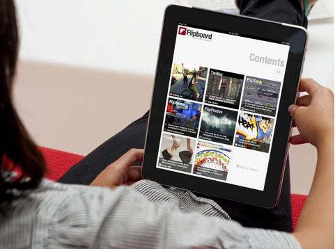 Photos of the Flipboard iPad App