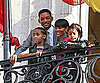 Slide Picture of Will, Jaden, Jada, and Willow Smith in Madrid
