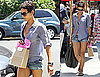 Pictures of Halle Berry in Short Shorts in LA